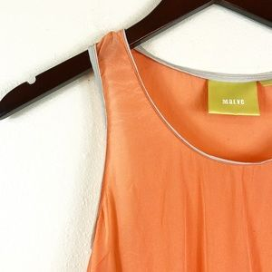 Anthropologie Maeve Sheer Color Block Size 2P Tank